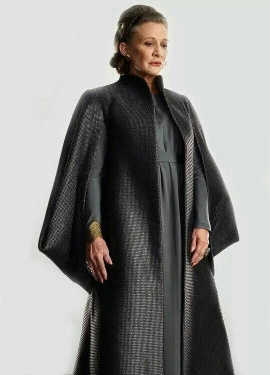77a6209eef Star Wars The Last Jedi - General Leia Organa | Carrie Fisher | Star ...