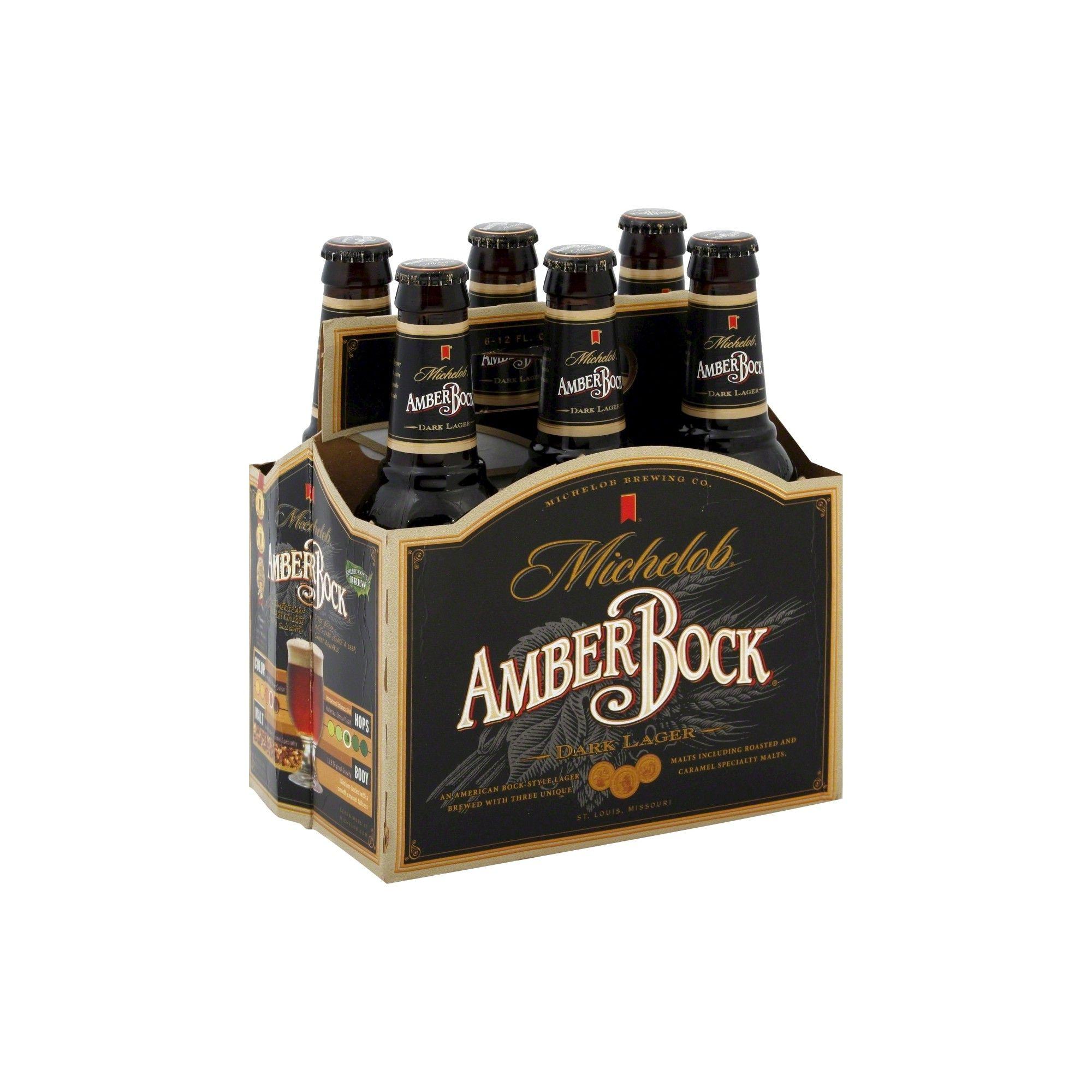 Michelob Amber Bock Beer 6pk 12oz Bottles Bottle Beer