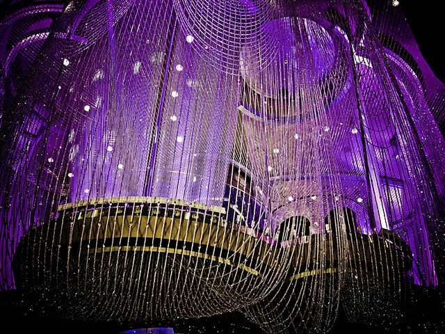Chandelier Bar | Chandeliers, Vegas and Las vegas