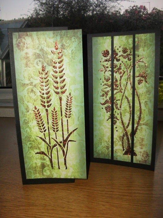 Imagination Crafts: Triptych Card