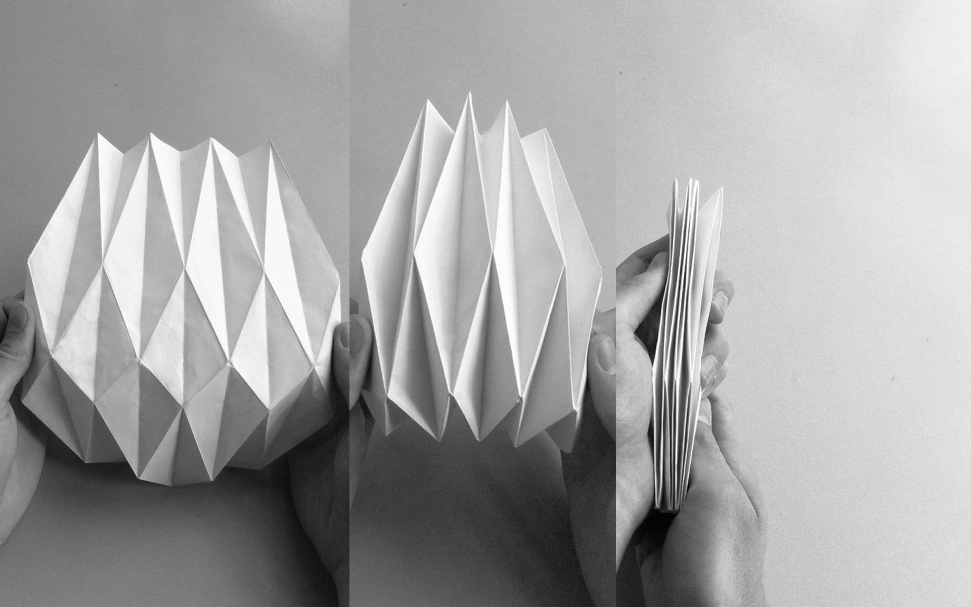 Folded Paper Structure