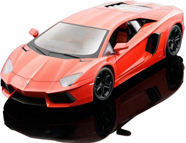 Sammlerauto »Lamborghini Aventador LP700-4 11, 1:24, orange«, Maßstab 1:24, aus Metallspritzguss #lamborghiniaventador