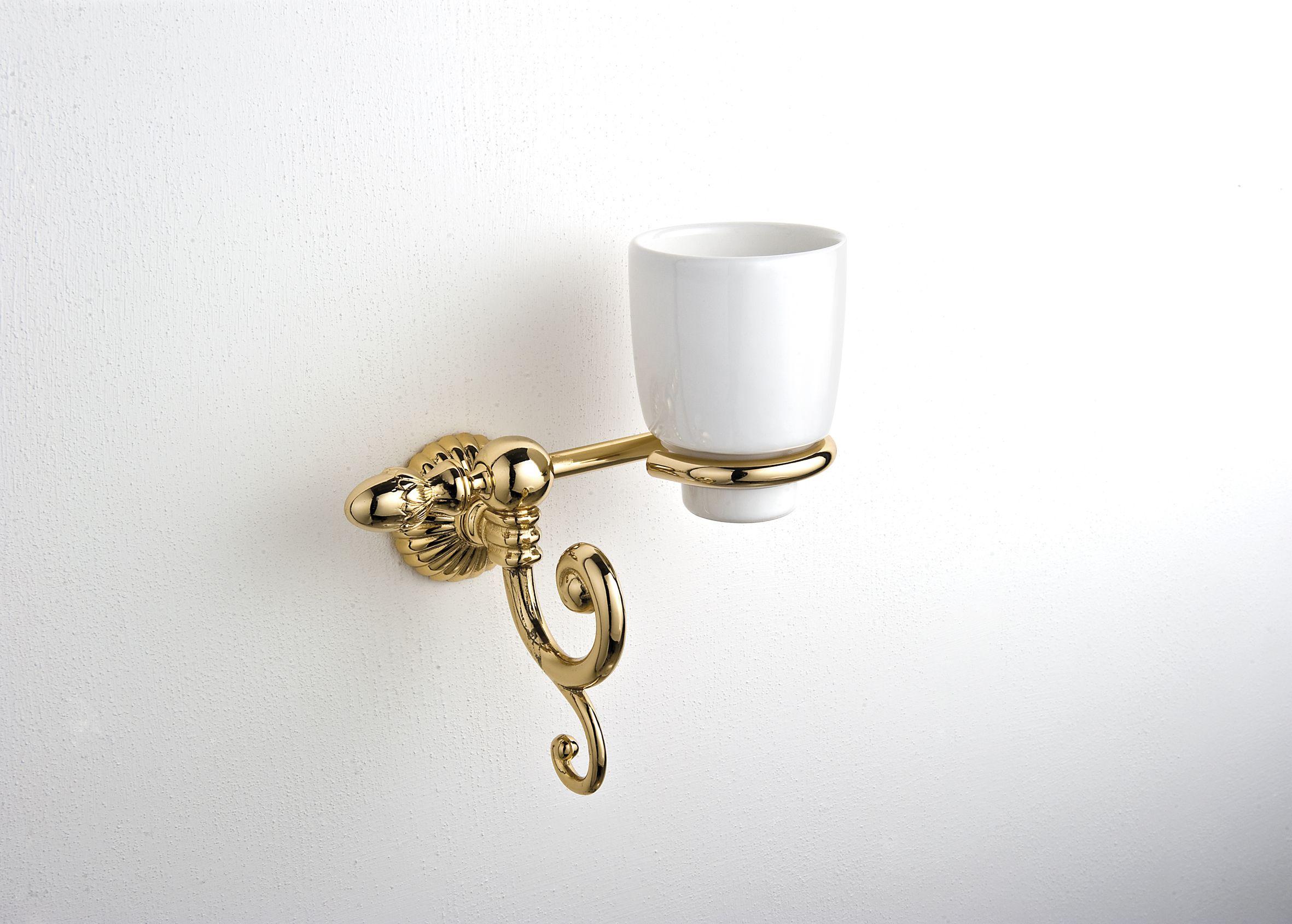 accesoires antik serie gold keramik zahnputzbecher. Black Bedroom Furniture Sets. Home Design Ideas