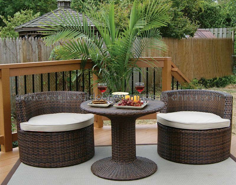 Small Patio Set Modern Outdoor Furniture For Small