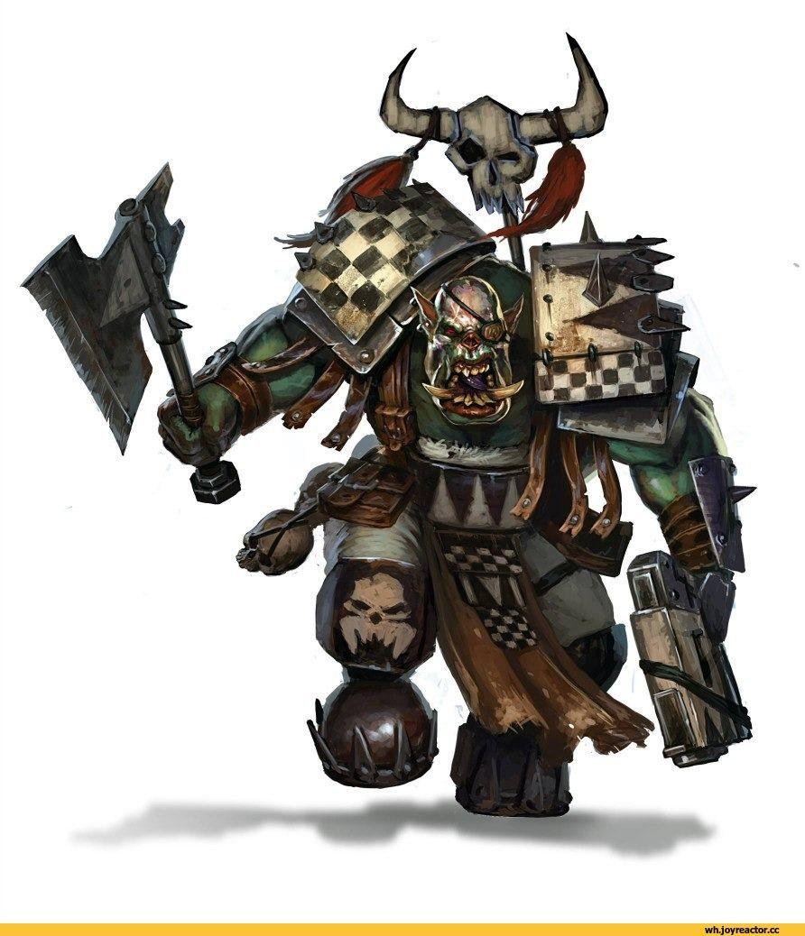 warhammer 40000,фэндомы,ork,orks
