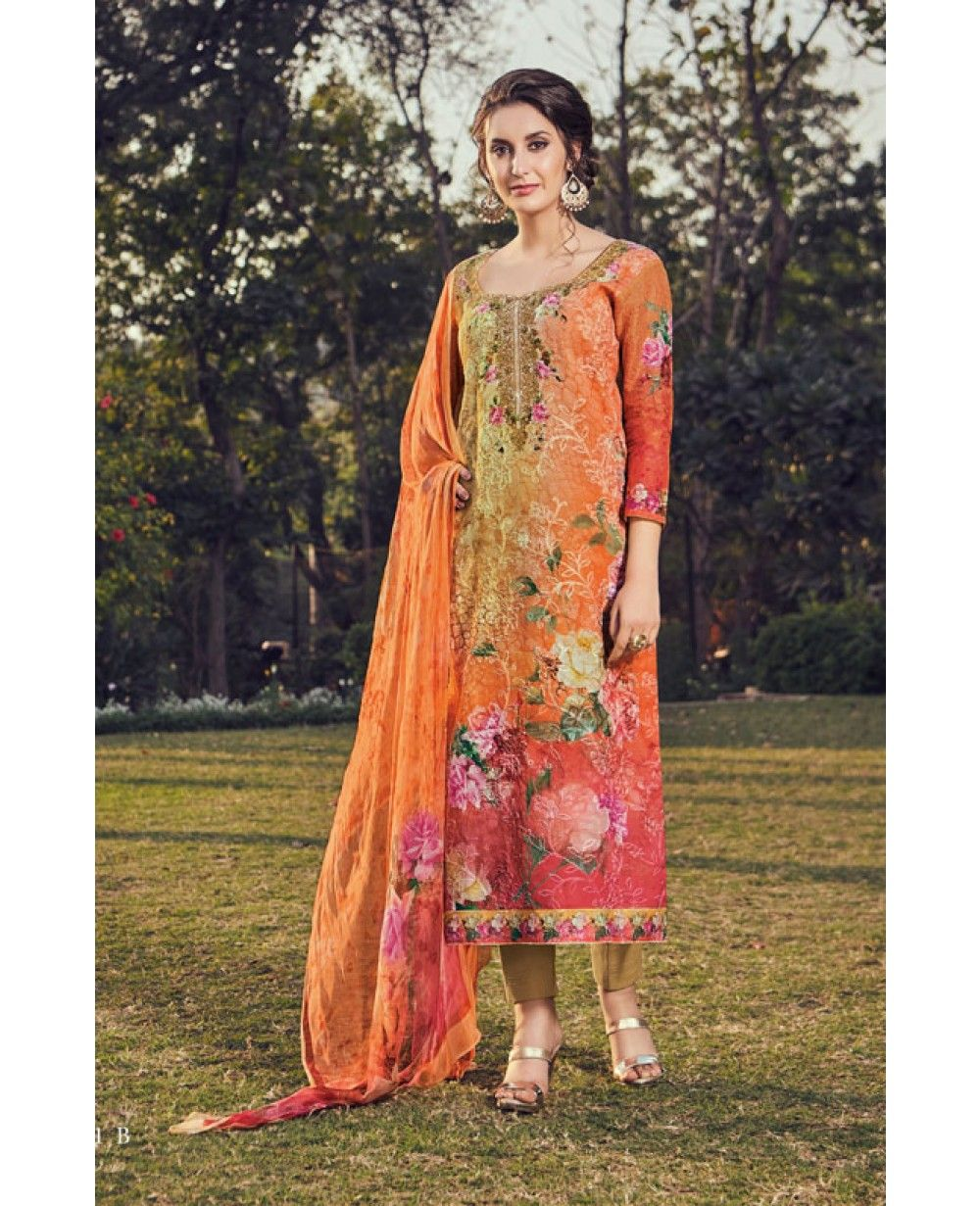 87ebf9ad7a Pin by indiwear on Summer Collection   Cotton salwar kameez, Cotton, Casual  wear