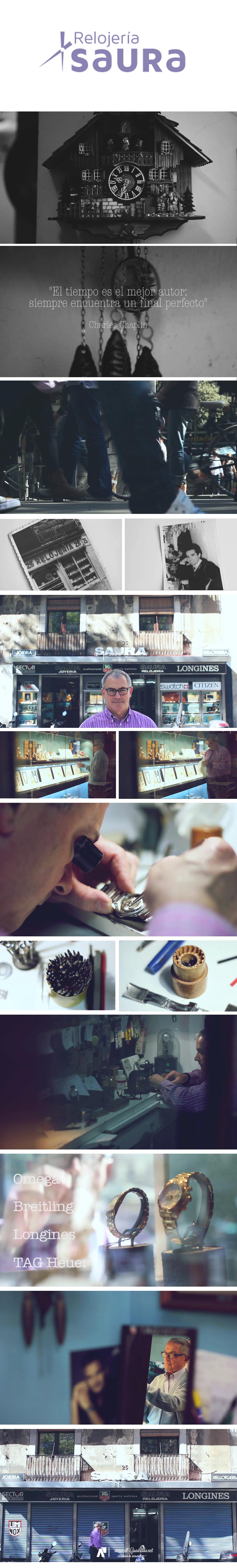 -un video un recuerdo- de la Joyeria Relojeria Saura, que tras 55 años cierra sus puertas. - alCuadrado Video Memories - www.alcuadrado.net