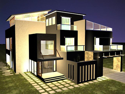 Pin By Follow On Architecture Beautiful House Plans Modern House Plans Modern Contemporary House Plans