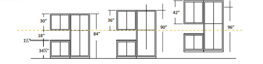 kitchen wall cabinet install height ideas how tall are upper