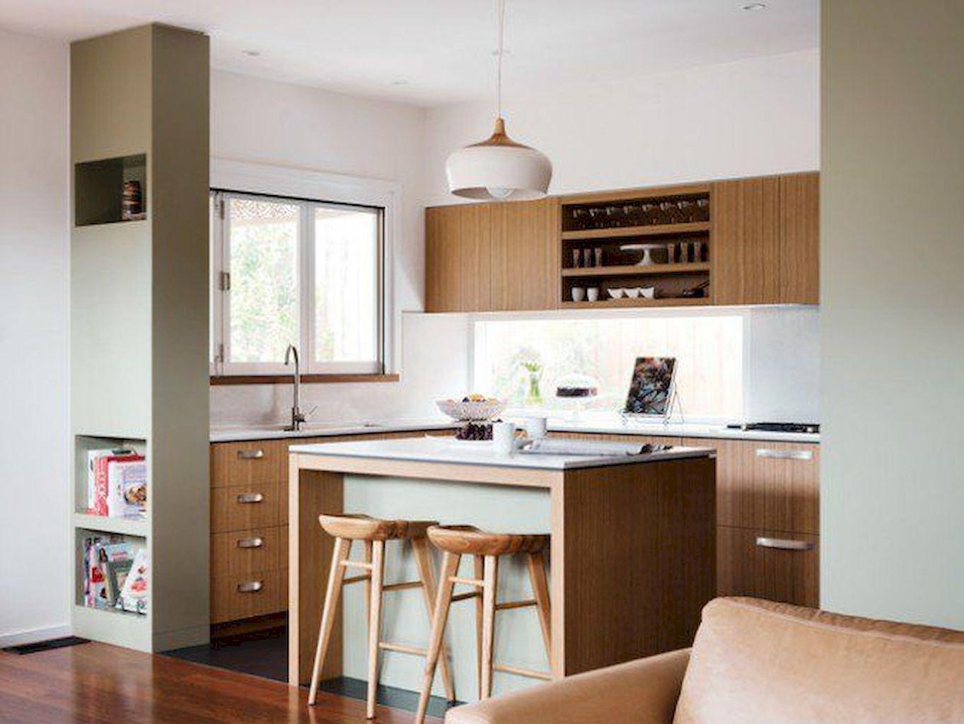 Mid Century Modern Kitchen Design Ideas 1 Kitchendesign Innenarchitektur Kuche Umbau Kleiner Kuche Und Kucheneinrichtung