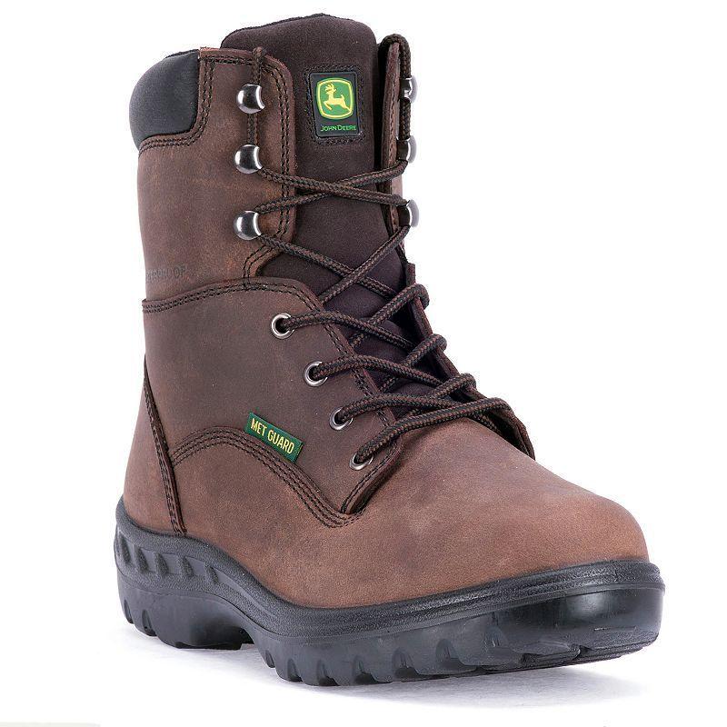 John Deere WCT Men's ... Waterproof Steel Toe Work Boots - JD8604 K61Fglxi