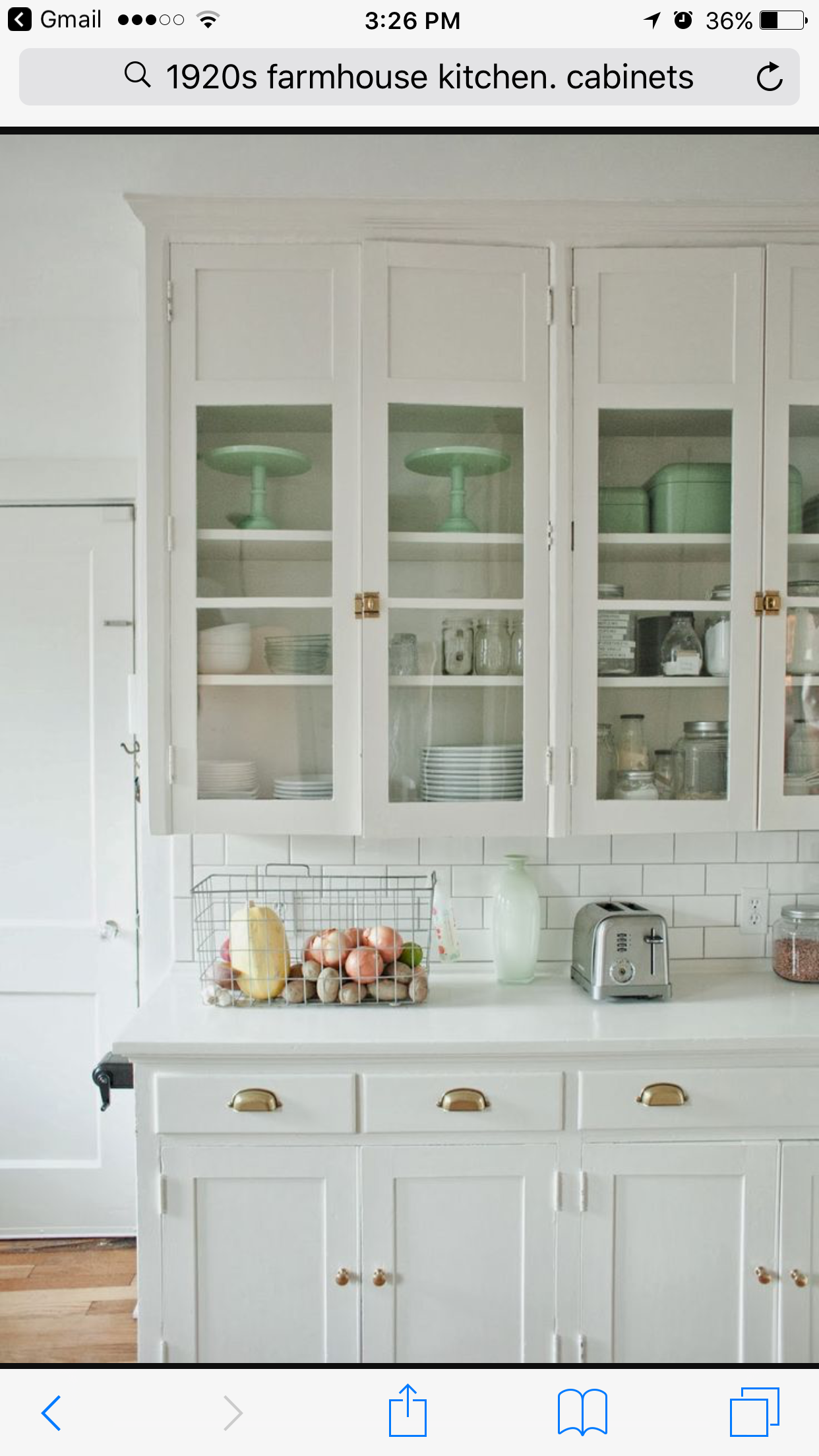Farm house kitchen cabinets | There\'s no place like home! | Pinterest