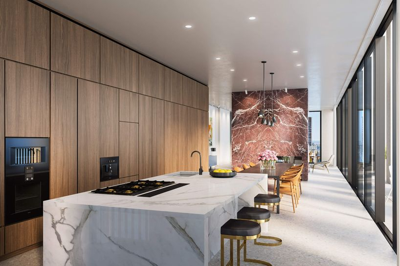 inside the bryant tower in new york by david chipperfield   Cocinas ...