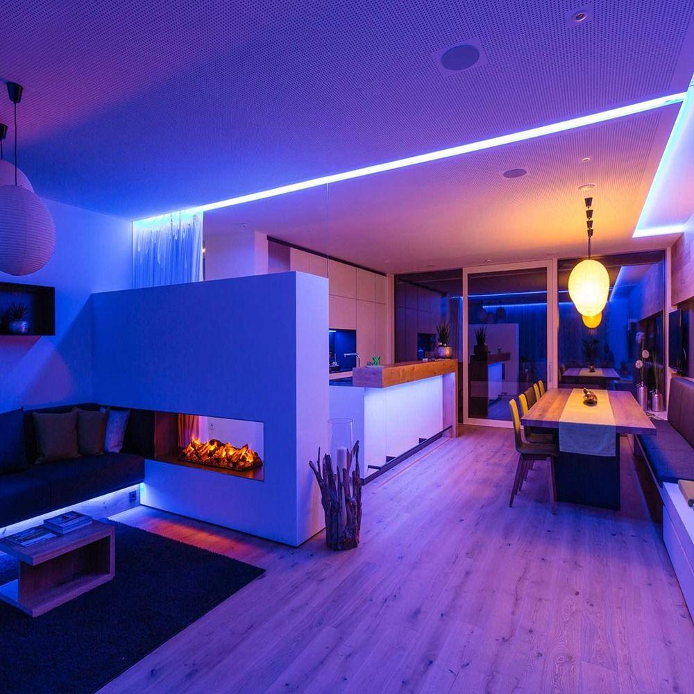 How To Do Diy Home Decor By Led Strip Lights Mood Lighting Bedroom Led Lighting Home Mood Lighting Living Room