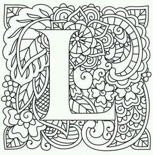 бесплатно английский алфавит раскраска | Раскраски ...