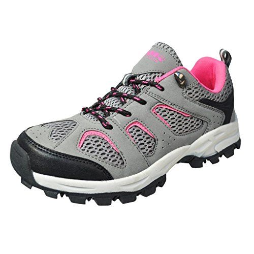 Air Balance Girls Hiking ShoesBlackGreyPink * You can find more details by visiting the image link. (This is an Amazon affiliate link)