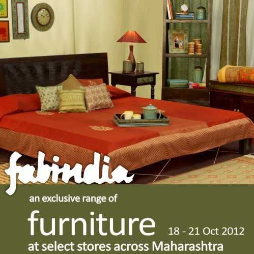 Fabindia presents an exclusive range of Furniture from 18 to 21 October  2012   Events in. Fabindia presents an exclusive range of Furniture from 18 to 21