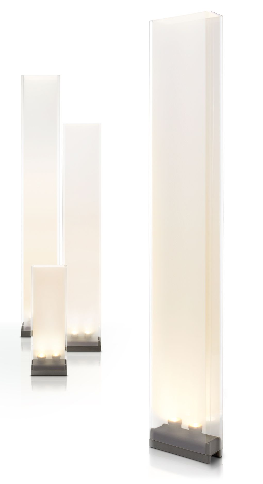 Pablo Pardo 'Cortina' family of floor and table lamps. From 61cm ...