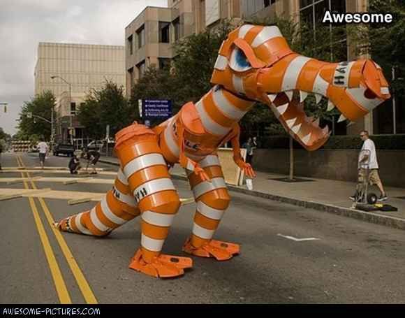 e9f70f277db48552fb86445a13a4bc4d awesome traffic cone monster awesome funny pinterest