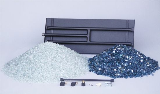 Fireplace Glass Kit With Images Glass Fireplace Glass Fireplace