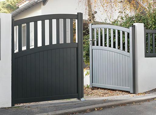 portail aluminium papey portail portillon portillon et portail. Black Bedroom Furniture Sets. Home Design Ideas