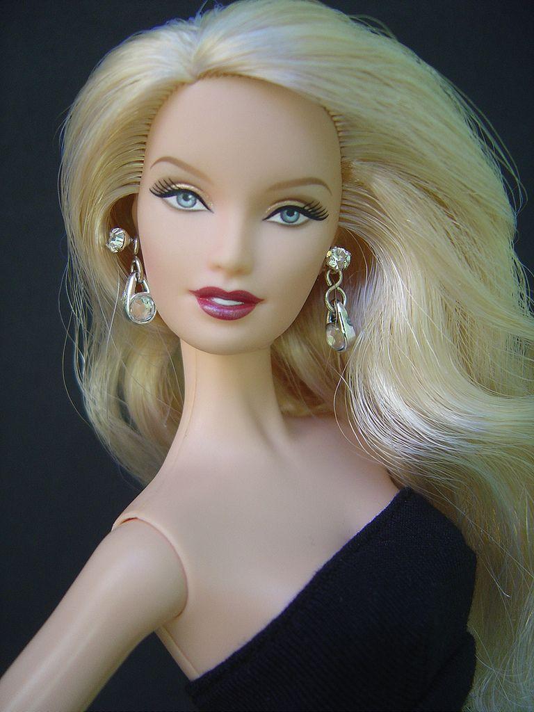 Blonde barbie pink dress  Femme Fatale  Flickr  Photo Sharing  Mattel Black Barbies
