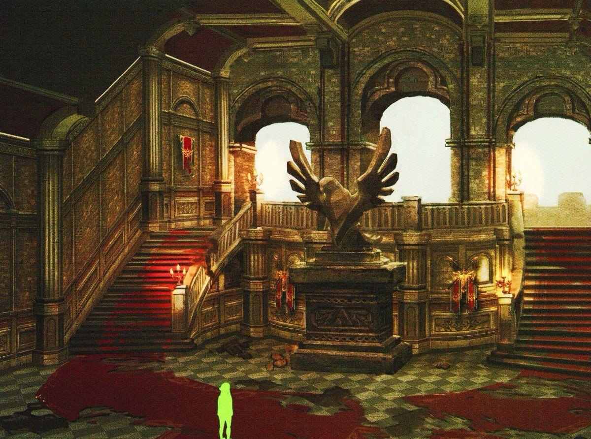 Hyrule Castle Concept Art From The Breath Of The Wild Master Works Art Book The Legend Of Zelda Zelda