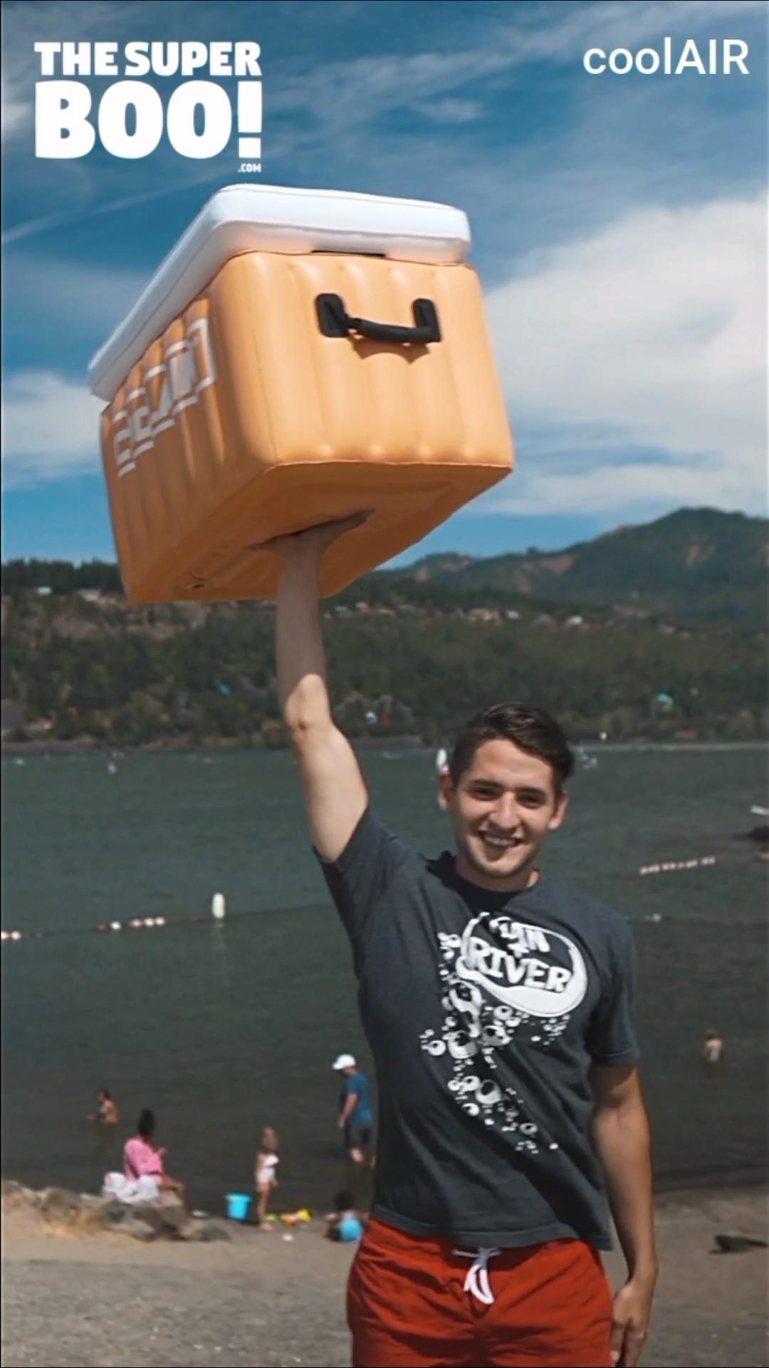 Floating Inflatable Drink Cooler