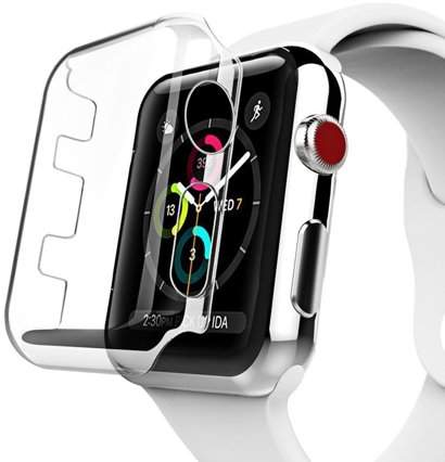 Coverlab Apple Watch Series 3 42mm Crystal Clear Front Protector Case Walmart Com Apple Watch Series Apple Watch Case Apple Watch