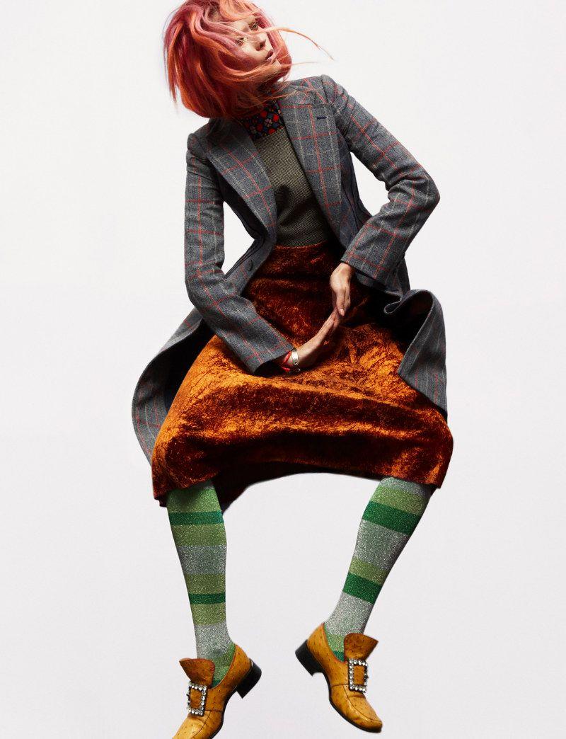 Jac Jagaciak Wears Layers of Prints for Numéro #136 by Greg Kadel