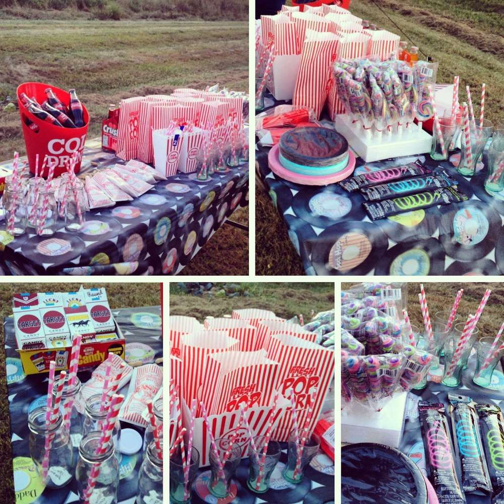 1950's Drivein Birthday Party Ideas Birthday party