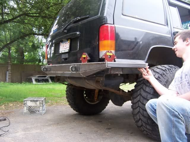 Custom Rear Bumper Build Page 2 Naxja Forums North American Xj Association Jeep Zj Jeep Xj Truck Bumpers