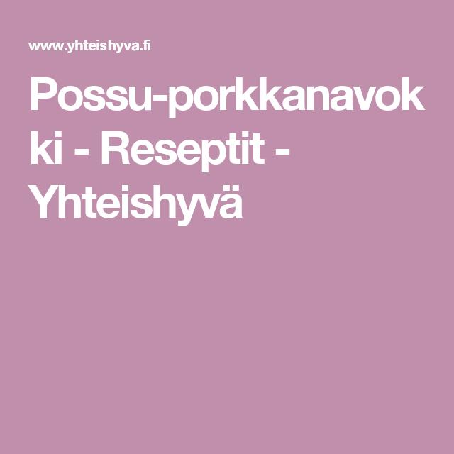 Possu-porkkanavokki - Reseptit - Yhteishyvä
