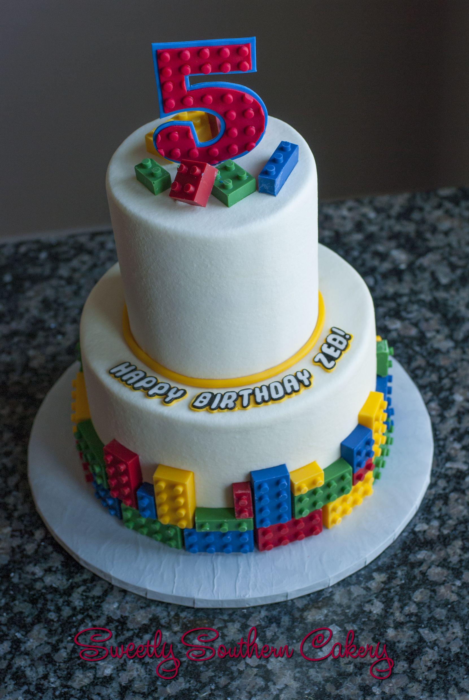 Lego cake lego birthday cake