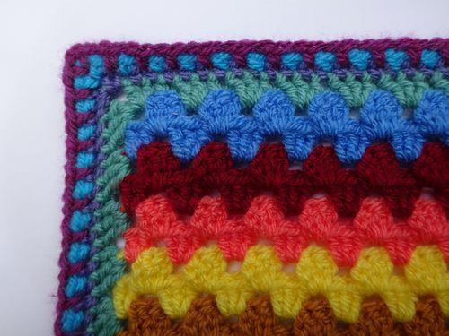 Granny Stripe Blanket Granny Stripe Blanket Crochet Stitches Edging Crochet Patterns Free Blanket