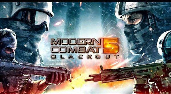 download modern combat 5 apk + data for android (offline)