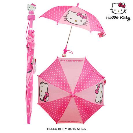 Hello Kitty Umbrella with Molded Handle - Assorted Styles at 57% Savings off Retail!