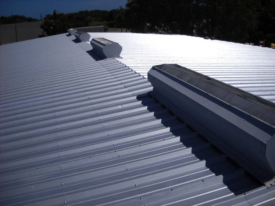 Roof Coatings Can Keep Your Building Cooler Improve Energy Efficiency And Extend The Life Of Your Roof Benefits Commercial Roofing Roofing Roof Maintenance