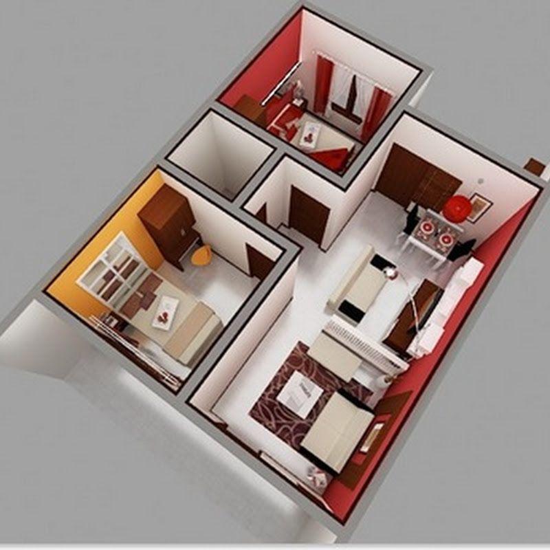 Desain Rumah Sederhana Ukuran 8x7 Desain Desain Produk Desain Rumah