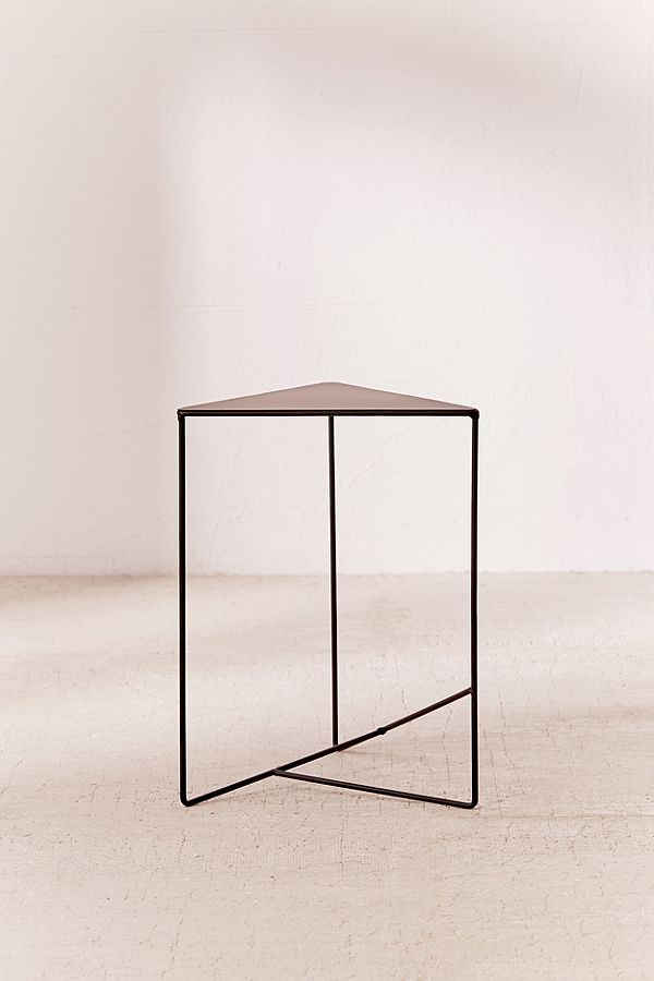 triangle side table living rooms room and living room sets