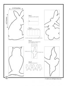 Paper Chain People Templates Papierketten Papiergirlanden Und Scherenschnitt