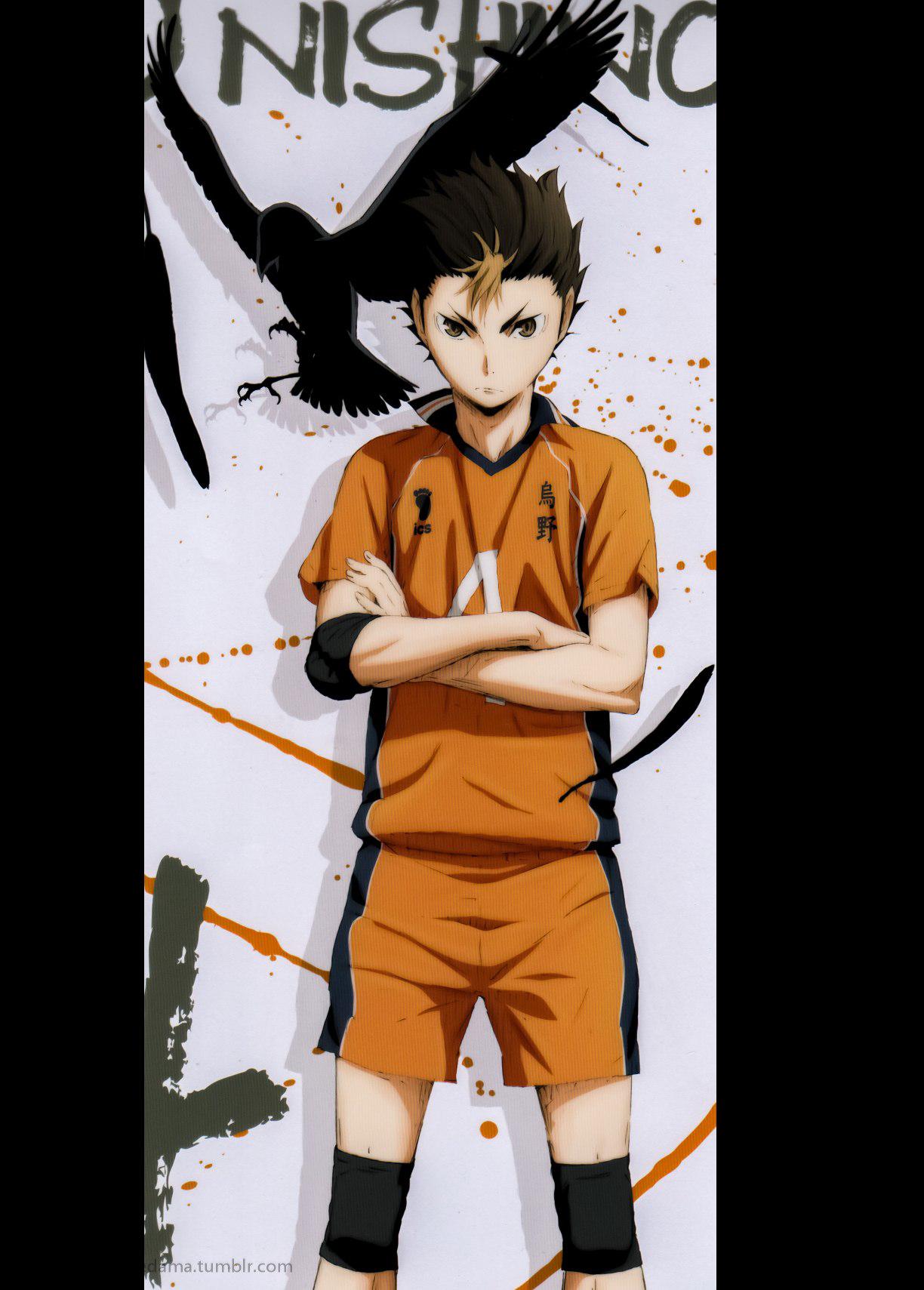 Nishinoya Yuu Karasuno Haikyuu Haikyuu Anime Nishinoya Haikyuu