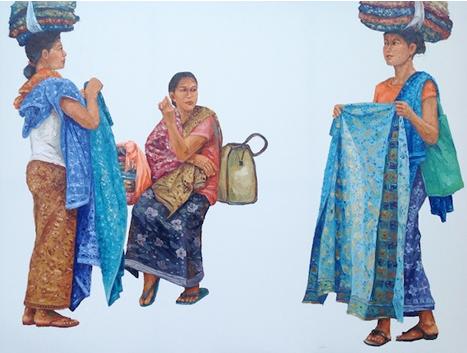 Huda Fauzan (b1967, Banyuwangi, East Java, Indonesia) | PIN made by RomANikki