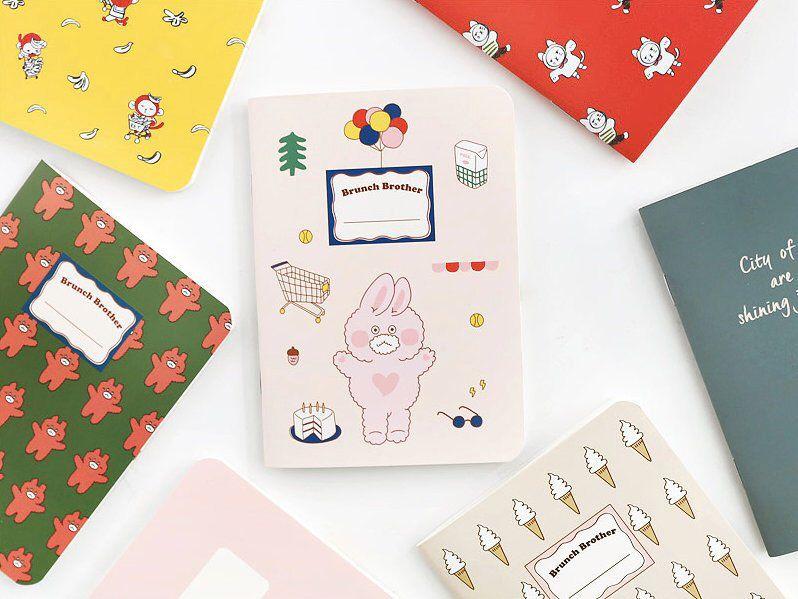 Blank&Lined Notebook [S] /Spiral Notebook/Lined Scrapbook