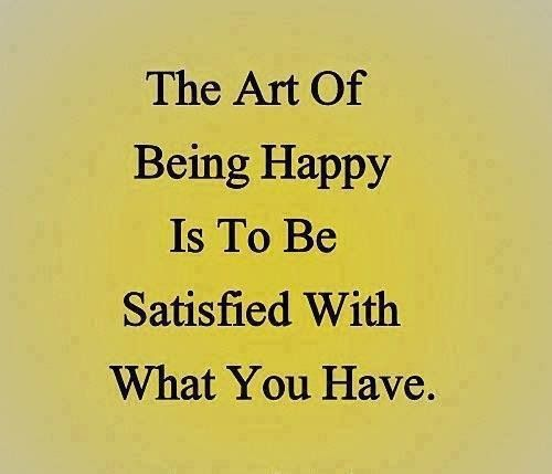 Life Lessons · Happiness...Satisfaction...Contentment.