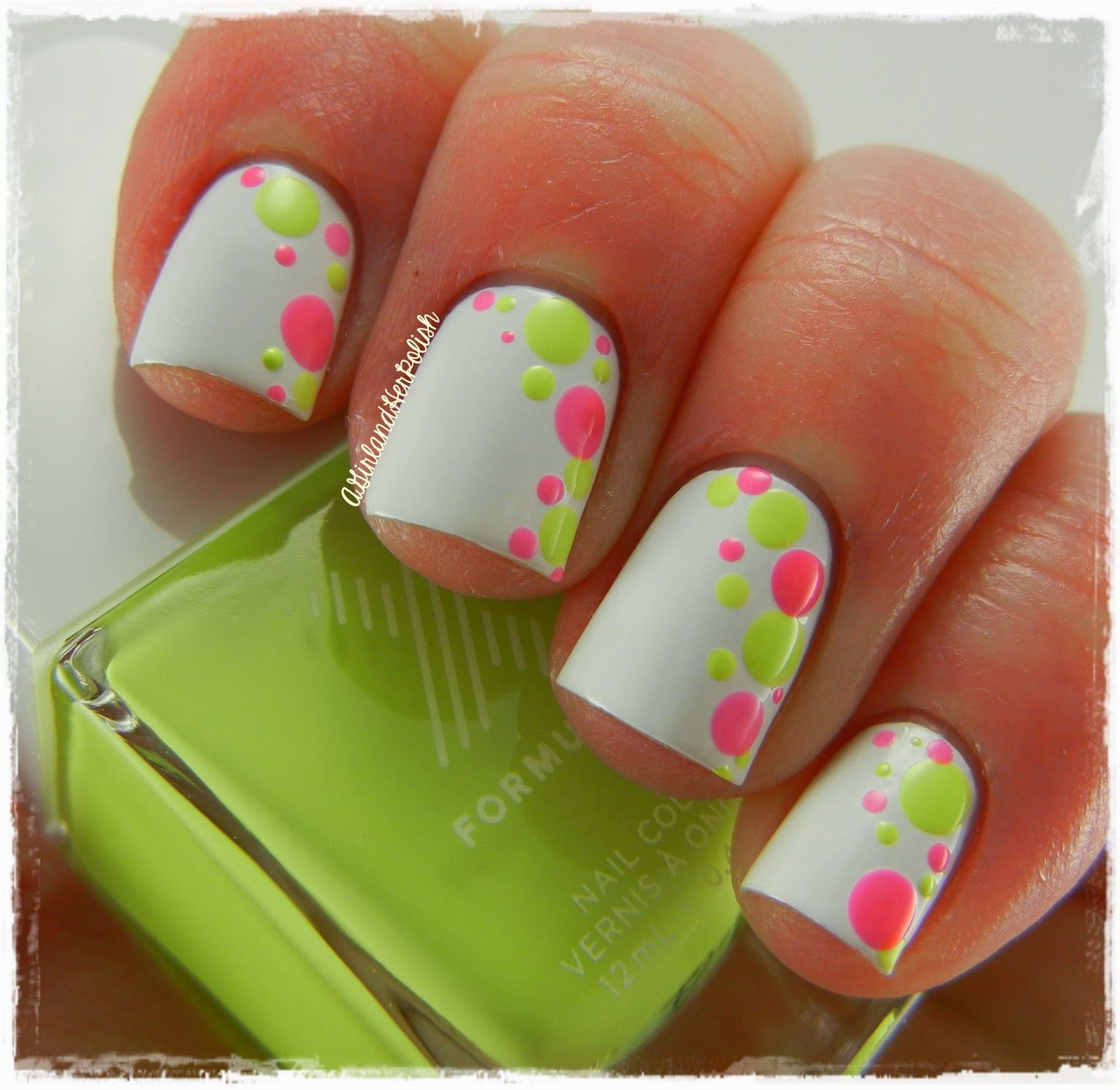 A Girl and Her Polish: Spring Dotticure   live:: Manicured ...