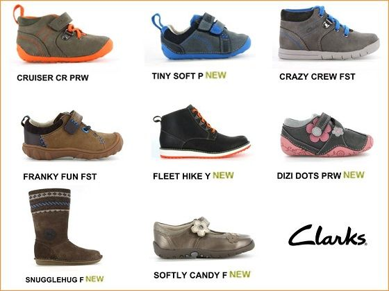 clarks kids trainers