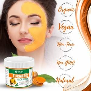 Photo of brand: natrulo Natrulo Turmeric Face Mask – Skin Brightening Mask with Turmeric and Bentonite C