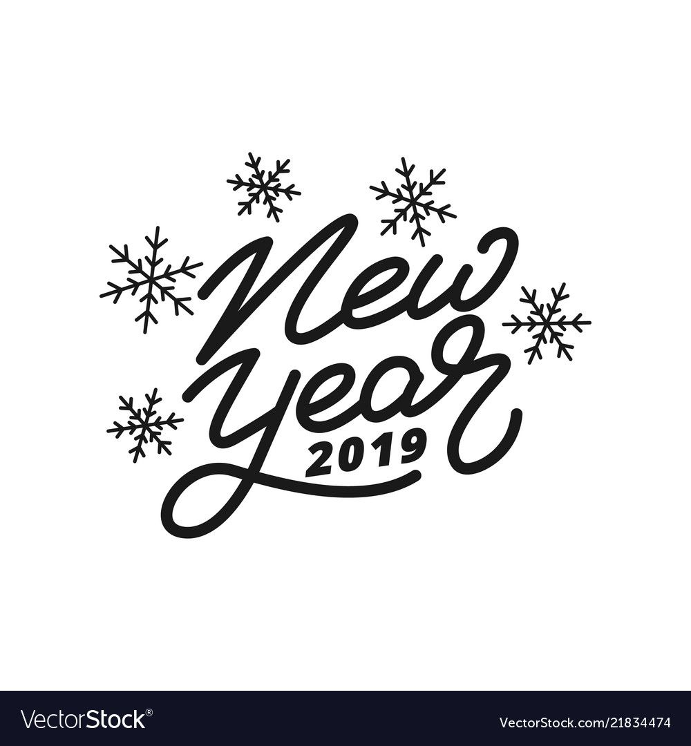 Happy New Year Lettering 15