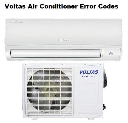 Voltas Air Conditioner Error Codes Acerrorcode Com Error Code Coding Air Conditioner